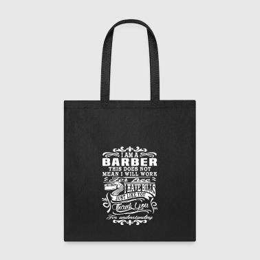 Barber Shirt - Tote Bag
