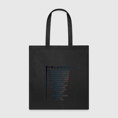 Music from A Z part3 - Tote Bag