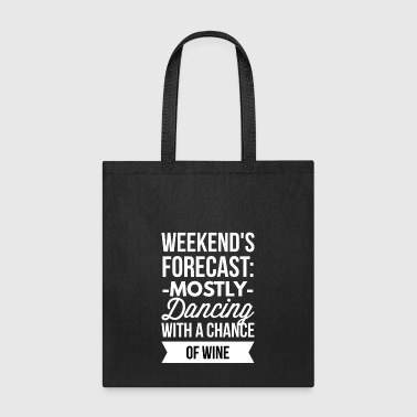 Mostly Dancing - Tote Bag