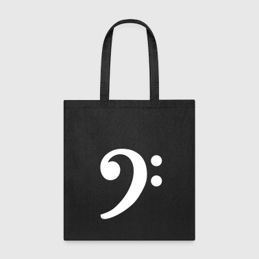 Bass Clef - Tote Bag