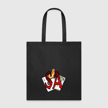 Scorched Letters cards - Tote Bag