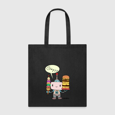 Sheiracu´s cute little robot - Tote Bag