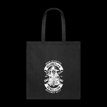 Rebellion Becomes Duty - Tote Bag