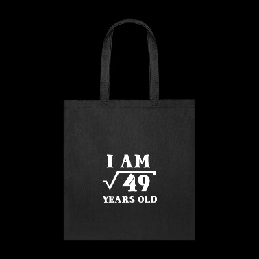 I Am Root 49 7 Years Old Math Tee Shirts Gifts - Tote Bag