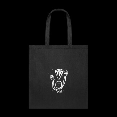 Comic Monster Creature Figure in funny drawing 61 - Tote Bag