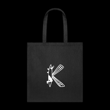 Wild things animal letters 11 - Tote Bag