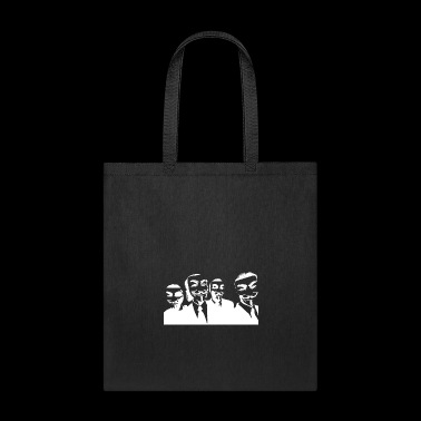 Anonymous face and sign outfit 39 - Tote Bag