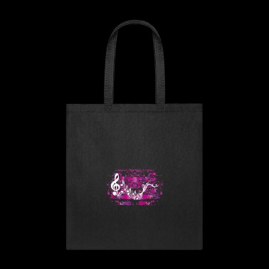 Music Musician Musicians Notes Clef Grunge Gift - Tote Bag