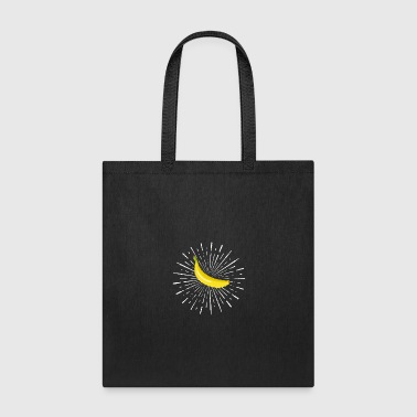 banana club team gift present idea disco birthday - Tote Bag