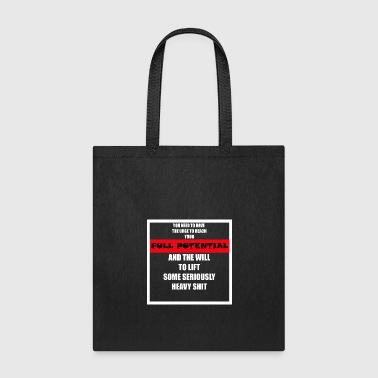 Fitness Motivation Quote - Tote Bag
