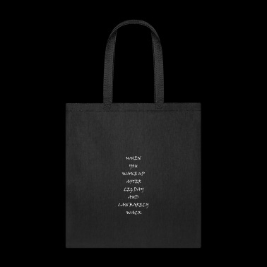 Fitness Quote - Tote Bag