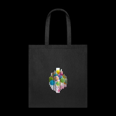 Lollipop lolly sugar colorful nibble gift sweet - Tote Bag