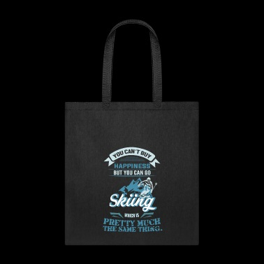 HAPPYNESS IS SKIING Back - Tote Bag