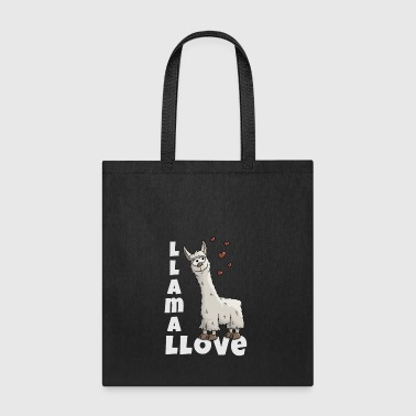 llama llove true llamas lover cute funny cool gift - Tote Bag