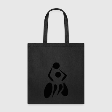 paralympics wheelchair basketball - Tote Bag