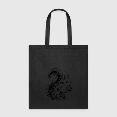 A squirrel with acorn - Tote Bag
