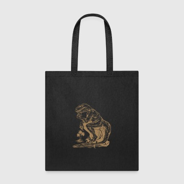 Velociraptor Philosopher - Tote Bag