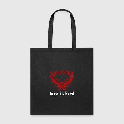 love is hard - Tote Bag
