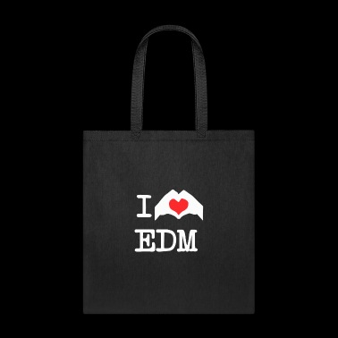 I Love Heart Edm - Tote Bag