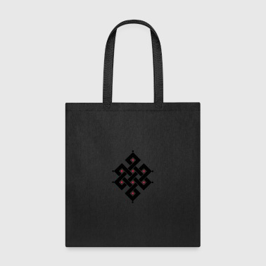 Eternal Knot Buddhism funny tshirt - Tote Bag