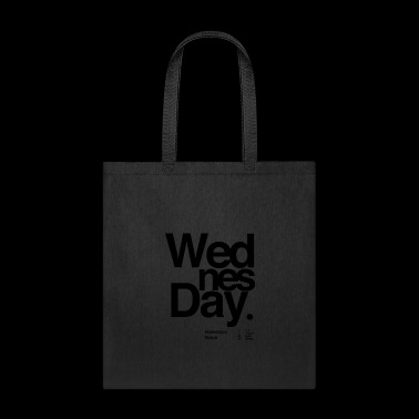 Wednesday typography - Tote Bag