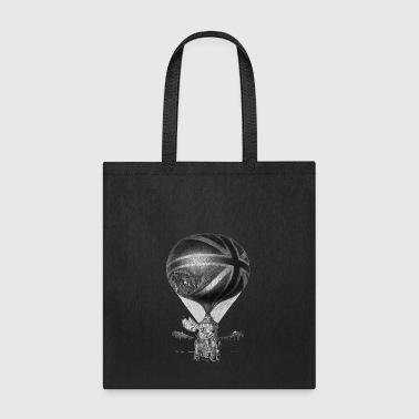 Lunardi s New Balloon as it ascended with Himself - Tote Bag