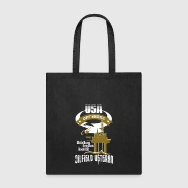USA Oilfield Veteran - Tote Bag
