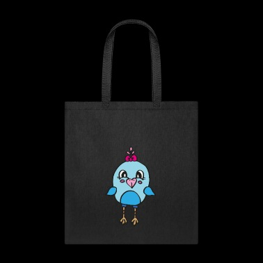 sweet chick with tiny wings , great gift idea - Tote Bag