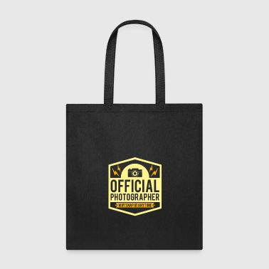 Official Photographer May Snap At Anytime Gift - Tote Bag