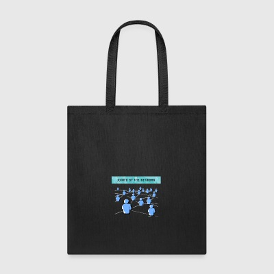 Joined by the network - Tote Bag