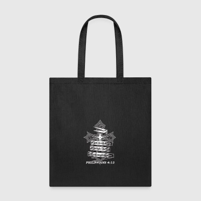 Limited Edition Philippians 4:13 Christian Bible - Tote Bag