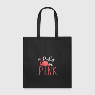 Pretty in Pink - Flamingo - Tote Bag