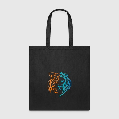 lion tiger - Tote Bag