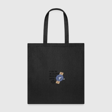 Pause My Watch - Tote Bag