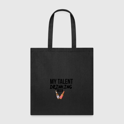 Drinking talent - Tote Bag