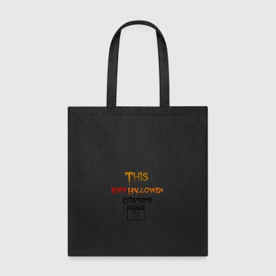 Creepy costume for Hallowen - Tote Bag