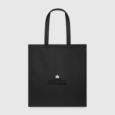 College is a constant battle - Tote Bag