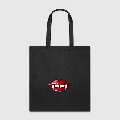 vampire mouth - Tote Bag