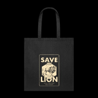 Save the Lion World Lion Day - Tote Bag