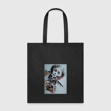 Klub Dead: Suicide Skull by Quentin Q5 Quirk - Tote Bag