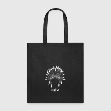 Tribe (Native American White) - Tote Bag