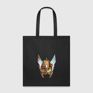cat_in_head_cover - Tote Bag