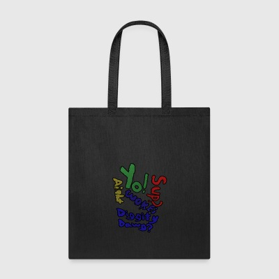 Moomaw_Text_Outlined - Tote Bag