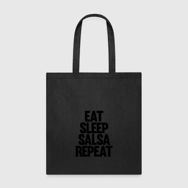 Eat Sleep Salsa Repeat - Tote Bag