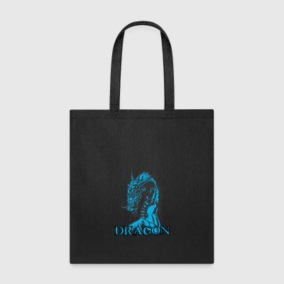 agry_looking_dragon - Tote Bag
