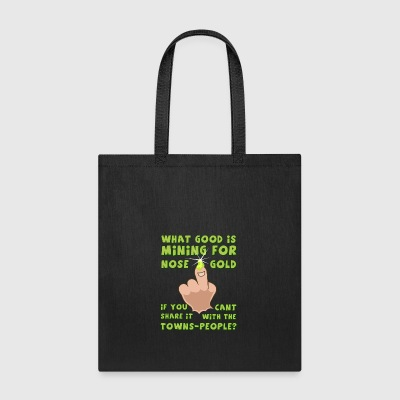 nose-gold - Tote Bag