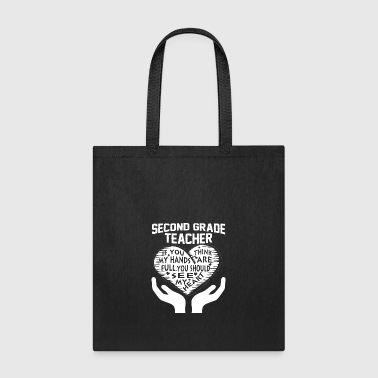 Second Grade Teacher T Shirt - Tote Bag