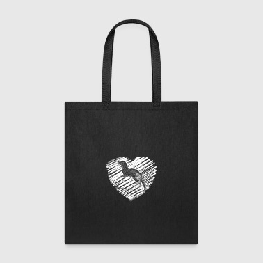 Otter Heart Shirt - Tote Bag