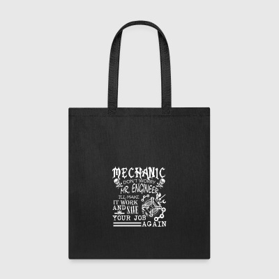 MECHANIC TEE SHIRT - Tote Bag