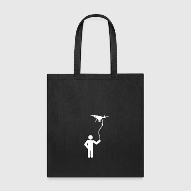 Walking the Drone - Tote Bag